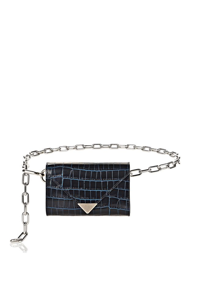 ALEXANDER WANG Wallets Women PRISMA ENVELOPE CHAIN SHOULDER BAG