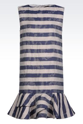 Armani Dresses Women dress in fil coupé jacquard