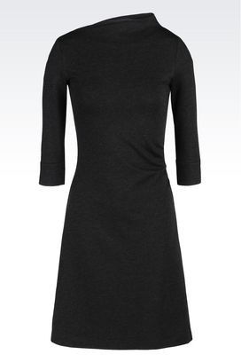 Armani Jersey dresses Women dress in interlock
