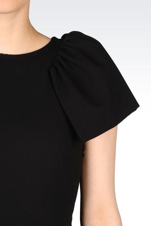 DRESS IN INTERLOCK: Short Dresses Women by Armani - 5