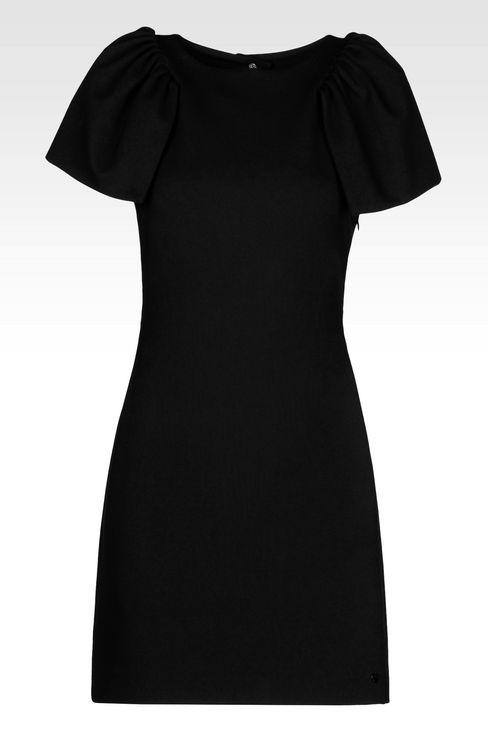 DRESS IN INTERLOCK: Short Dresses Women by Armani - 1