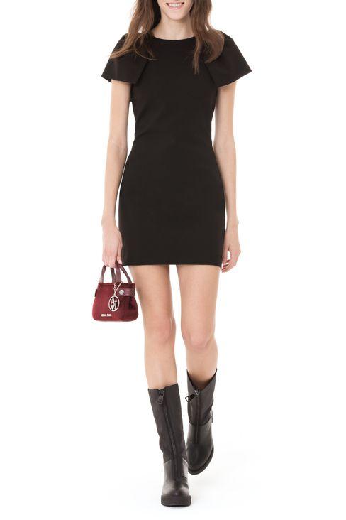 DRESS IN INTERLOCK: Short Dresses Women by Armani - 2