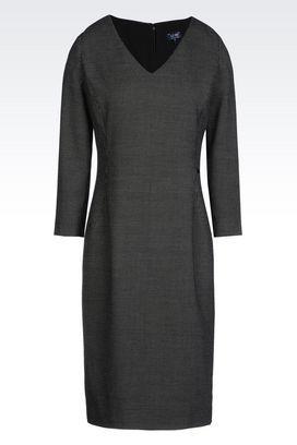 Armani Short Dresses Women sheath in viscose blend