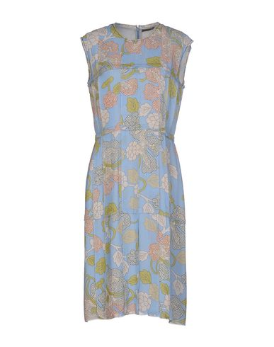 Платье до колена BOTTEGA VENETA 34637292MR