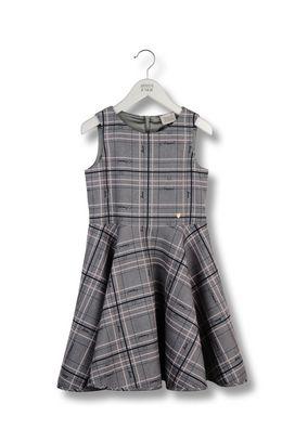 Armani Dresses Women tartan fabric dress