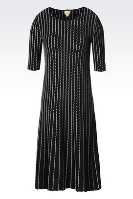Armani 3/4 Length Dresses Women dress in jacquard