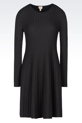 Armani Long-sleeved dresses Women dress in viscose blend