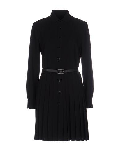 Короткое платье RALPH LAUREN BLACK LABEL 34641625BW