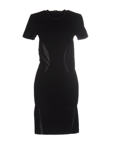 Короткое платье MCQ ALEXANDER MCQUEEN 34645788GE