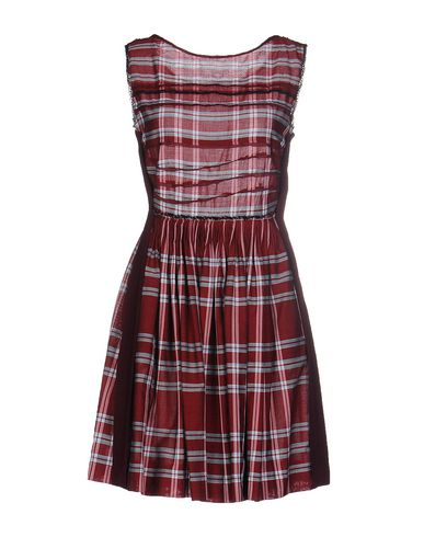 Короткое платье MIU MIU 34646419VF