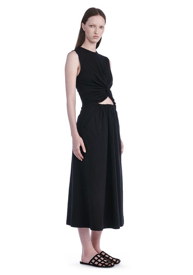 T by ALEXANDER WANG new-arrivals FRONT TWIST SLEEVELESS DRESS