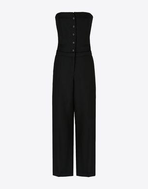 Virgin wool jumpsuit