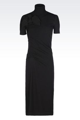 Armani 3/4 Length Dresses Women knit dress