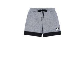Black essentials knit shorts