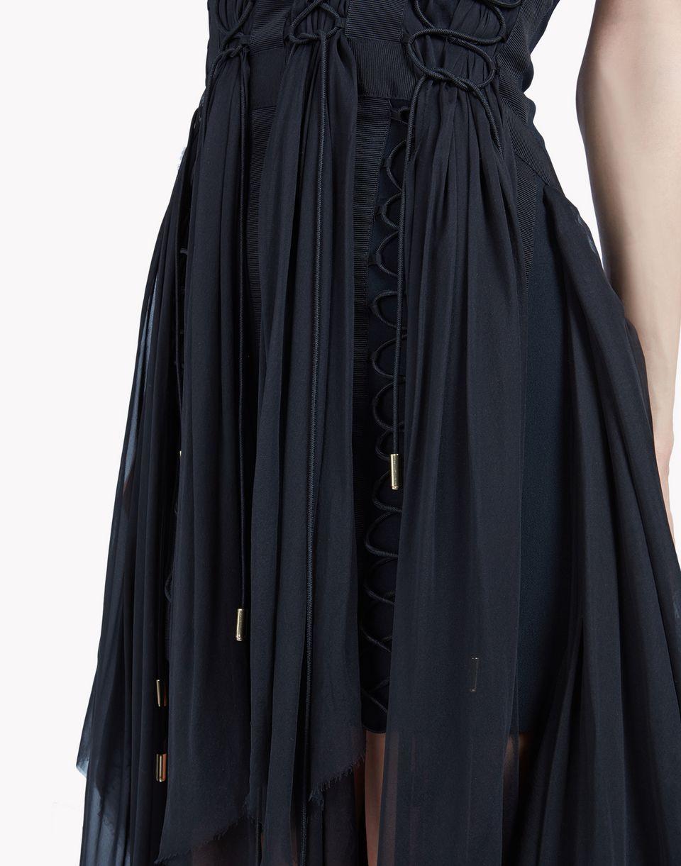 parachute laced up dress dresses Woman Dsquared2
