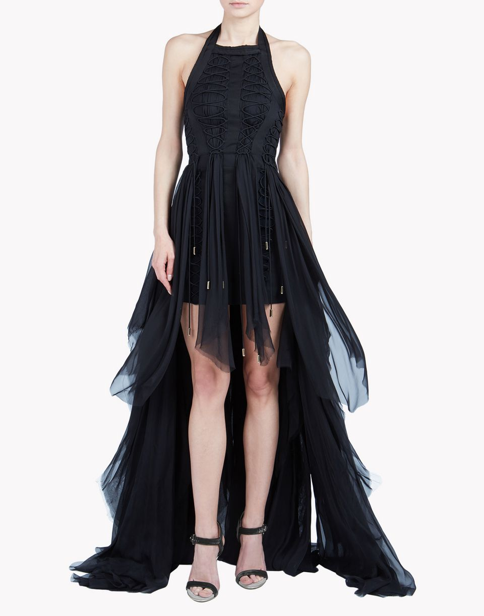 parachute laced up dress dresses Woman Dsquared2