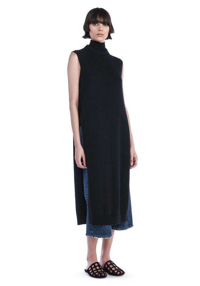 T by ALEXANDER WANG KNIT DRESSES Women CASHWOOL FLOOR LENGTH DICKIE
