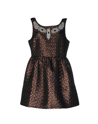 Короткое платье CHARMING 34666303PI