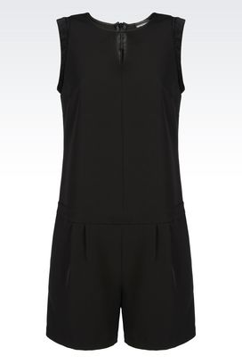 Armani Tunics Women jumpsuit in stretch gabardine
