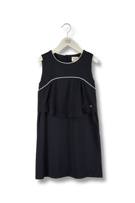 Armani Dresses Women flounced jersey dress