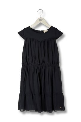 Armani Dresses Women chiffon and jersey flounced dress