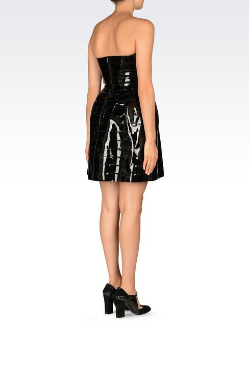 RUNWAY DRESS IN VINYL