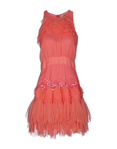 Короткое платье ELISABETTA FRANCHI GOLD 34682556EB