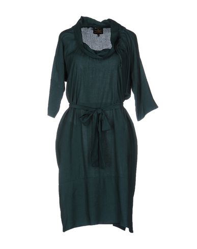Платье до колена VIVIENNE WESTWOOD ANGLOMANIA 34684944JW