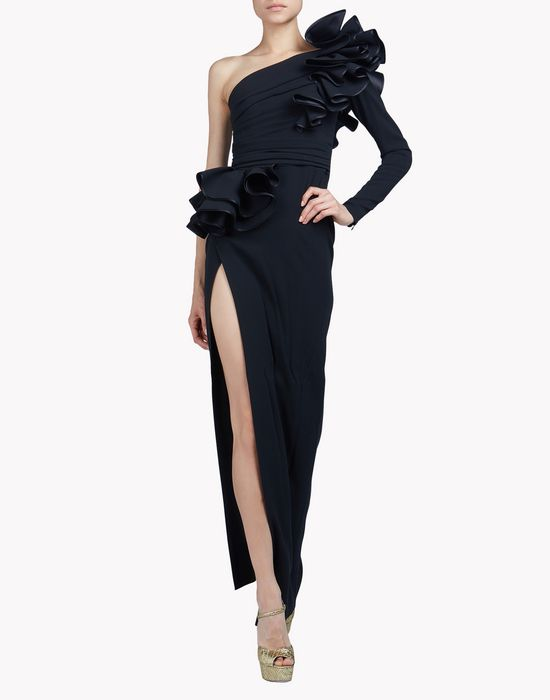ruffled colby gown vestidos Mujer Dsquared2