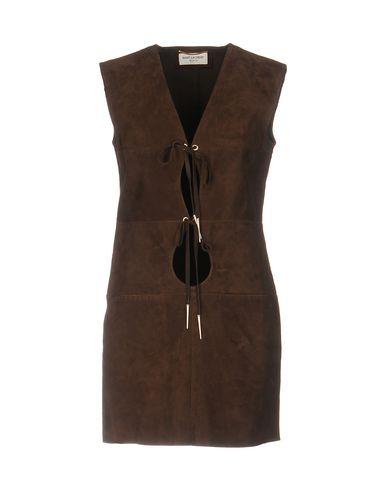 Короткое платье SAINT LAURENT 34695508NB