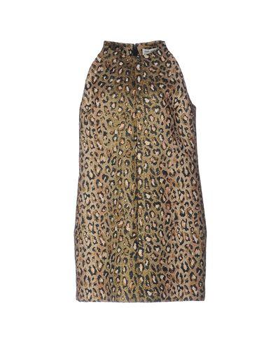 Короткое платье SAINT LAURENT 34695724WE