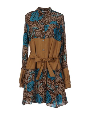 Короткое платье GALLIANO 34697332AB