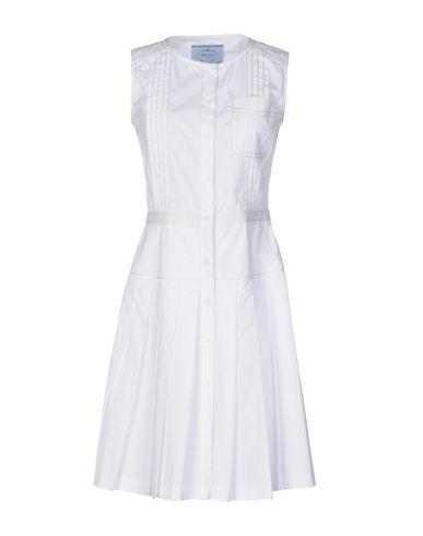 Платье до колена PRADA 34697437BW