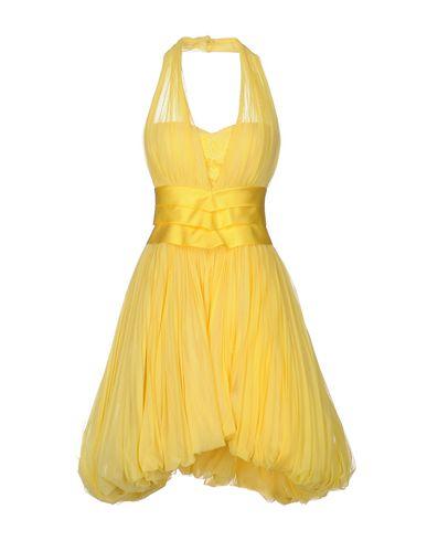 Платье до колена CAILAN'D. Цвет: желтый