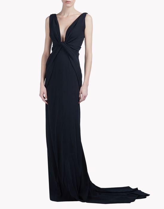 serena crêpe gown dresses Woman Dsquared2