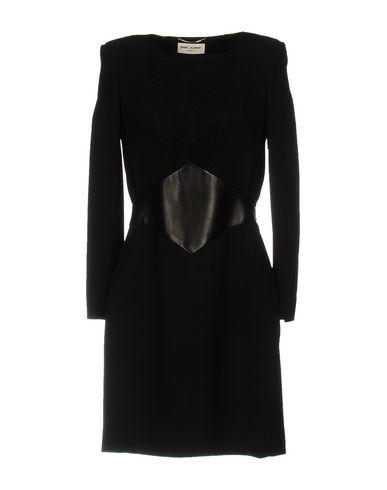 Короткое платье SAINT LAURENT 34700955SG