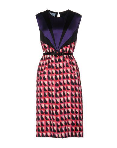 Платье до колена PRADA 34702154DR