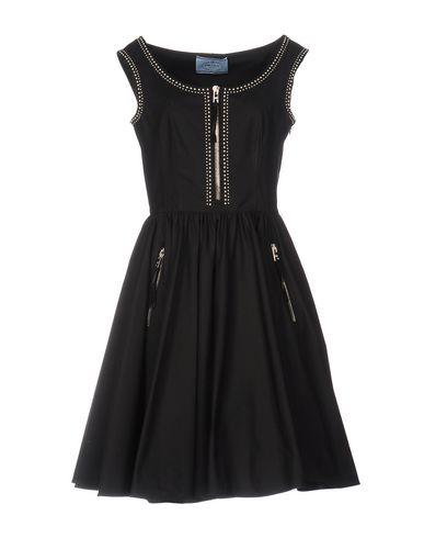 Платье до колена PRADA 34705187EA