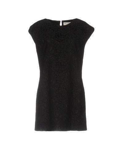 Короткое платье SAINT LAURENT 34705721AP