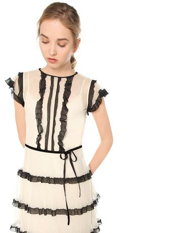 REDValentino MR3VA04R2SB 404 Dress Woman d