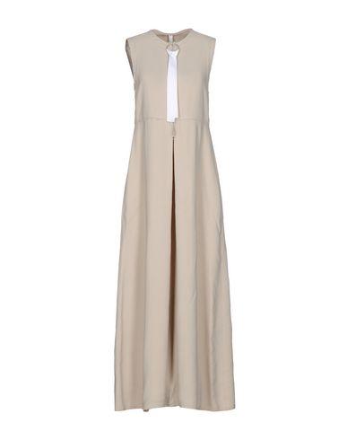 Длинное платье DAMIR DOMA. Цвет: бежевый