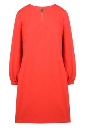 Armani Short Dresses Women solid colour crepe dress