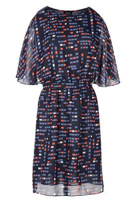 Armani Short Dresses Women multicolour pixel pattern dress