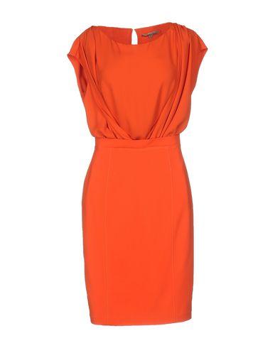 Короткое платье BETTY BLUE. Цвет: ржаво-коричневый