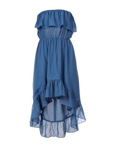 Короткое платье TOY G.. Цвет: пастельно-синий