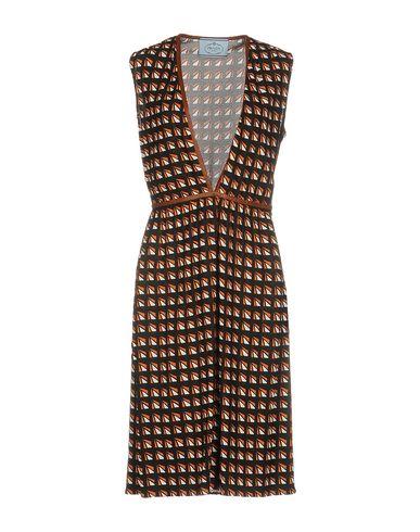Платье до колена PRADA 34714065OG