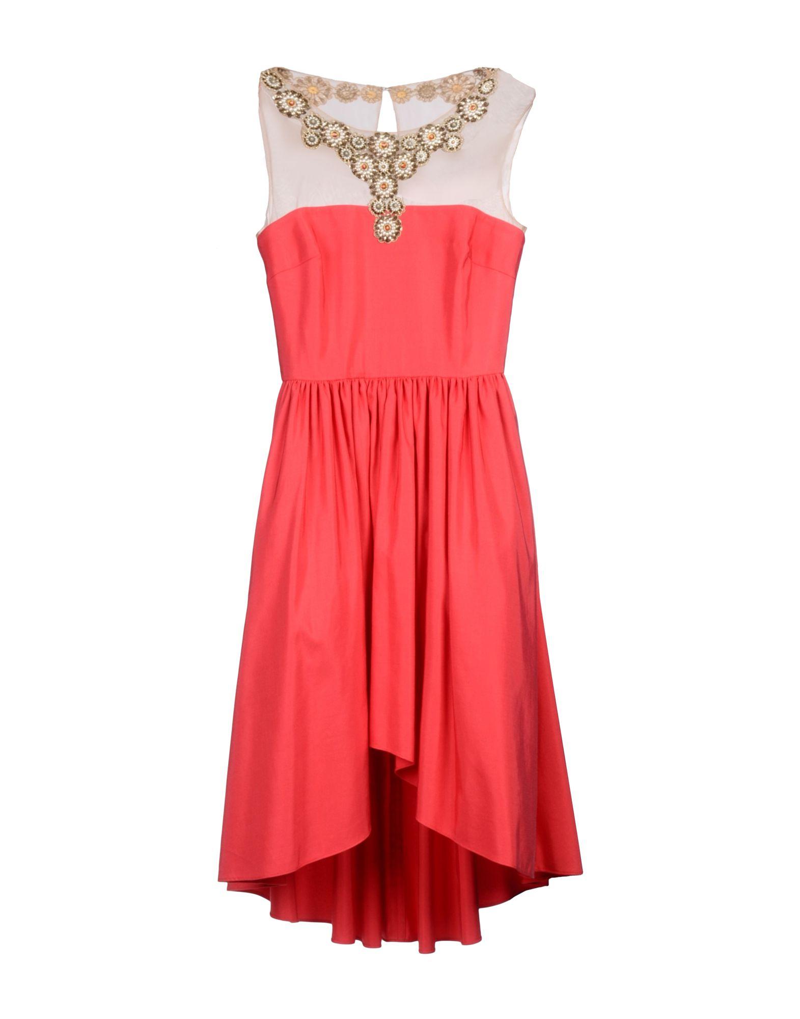 Вечернее платье до колен
