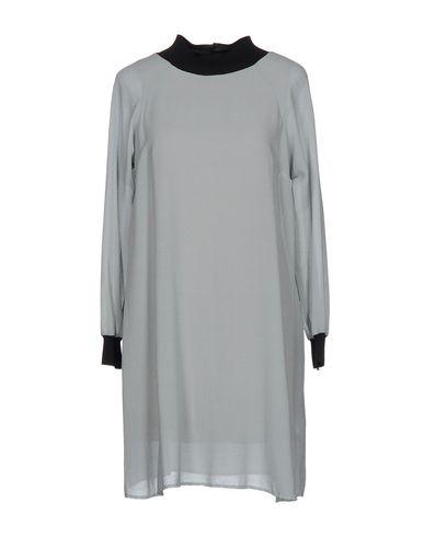 Короткое платье ALYSI. Цвет: светло-серый