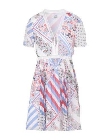 Короткое платье GIGI HADID X TOMMY HILFIGER 34718087NA