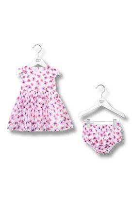 Armani Dresses Women flower print dress and brief set